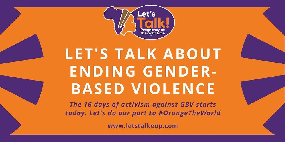 Ending Gender Based Violence