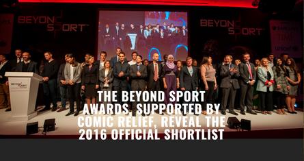 America SCORES shortlisted for Beyond Sport Sport for Health Award