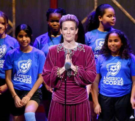 America SCORES Poet-Athletes honor Megan Rapinoe!