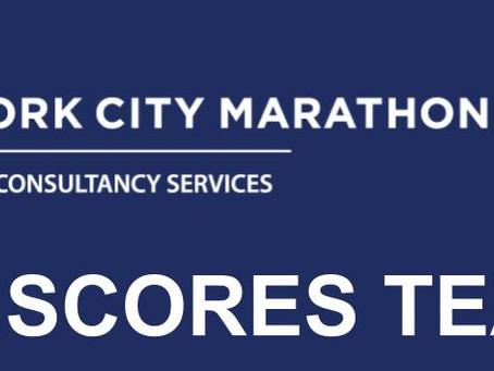 Follow the progress of our New York City Marathon team!