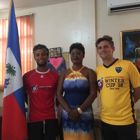 ASNY in Haiti - Building Community Through Soccer