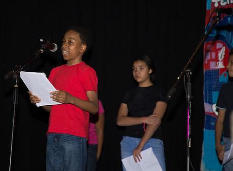 Middle School Poetry SLAM! 2018