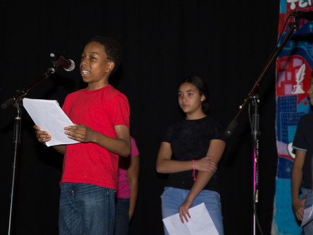 Middle School Poetry SLAM! 2018