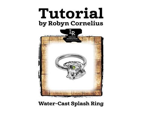 Water Cast Splash Ring Tutorial