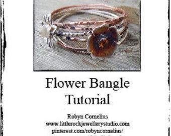 Flower Bangle Tutorial