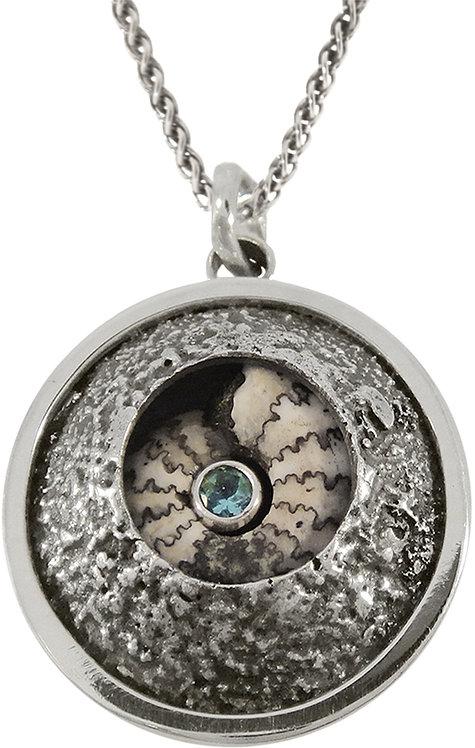 Ammonite Dome Pendant