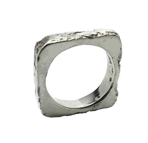 copy of Sand Cast Square Ring