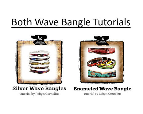 Both Wave Bangle PDF Tutorials