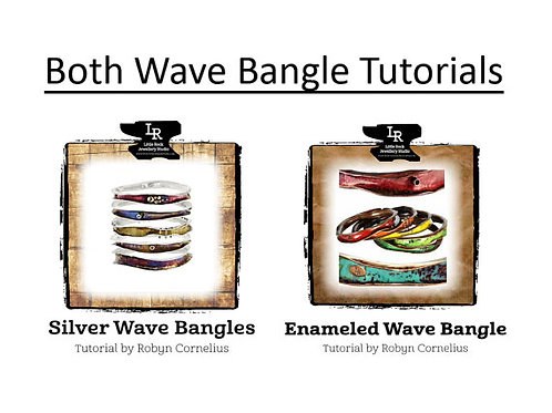 Both Wave Bangle PDF Tutorials