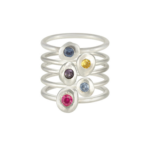 Flush Set Stacking Ring
