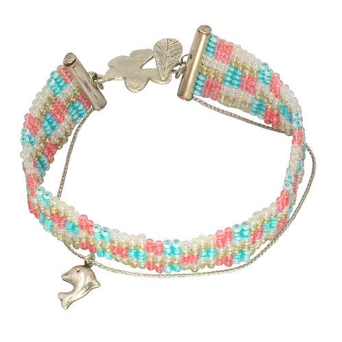Checkerboard Loom Bracelet