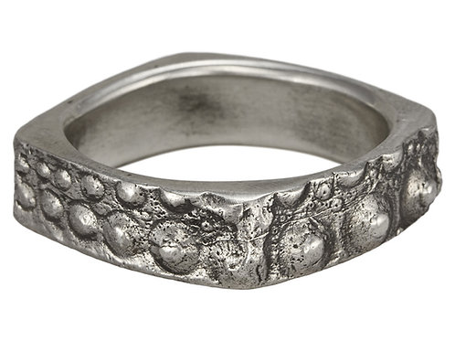 Sterling Silver Urchin Ring