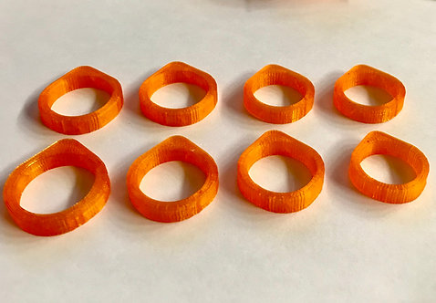 Sand Casting Ring Blanks Triangle 6.7mm Sizes 5-12