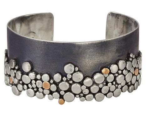Silver Pebble Cuff