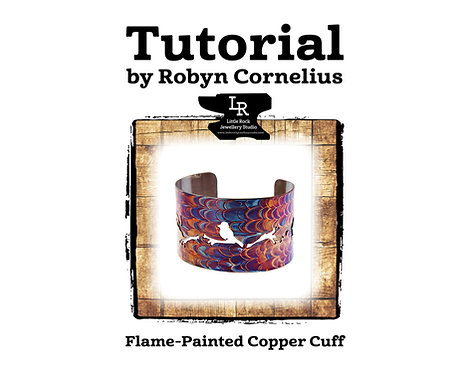 Flame Painted Copper Cuff Tutorial