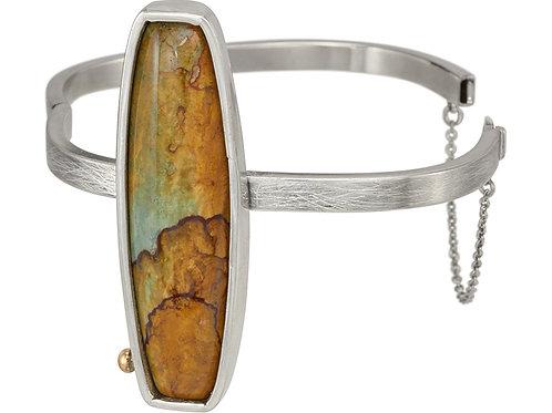 Jasper Hinged Bracelet