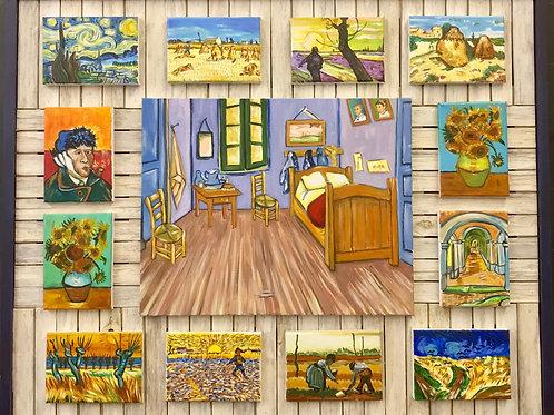 Mini-Museo for Mr. Van Gogh
