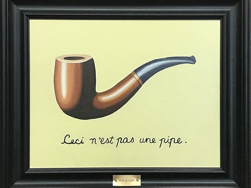 A Painting of a Painting (for Monsieur Magritte)