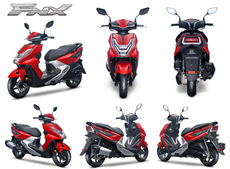 Introducing the SYM FNX 125cc
