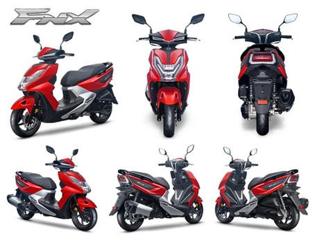 Introducing the SYM FNX 125cc