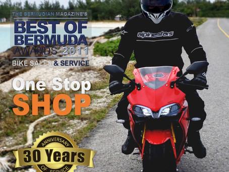 30 Years of Sales & Service in Bermuda