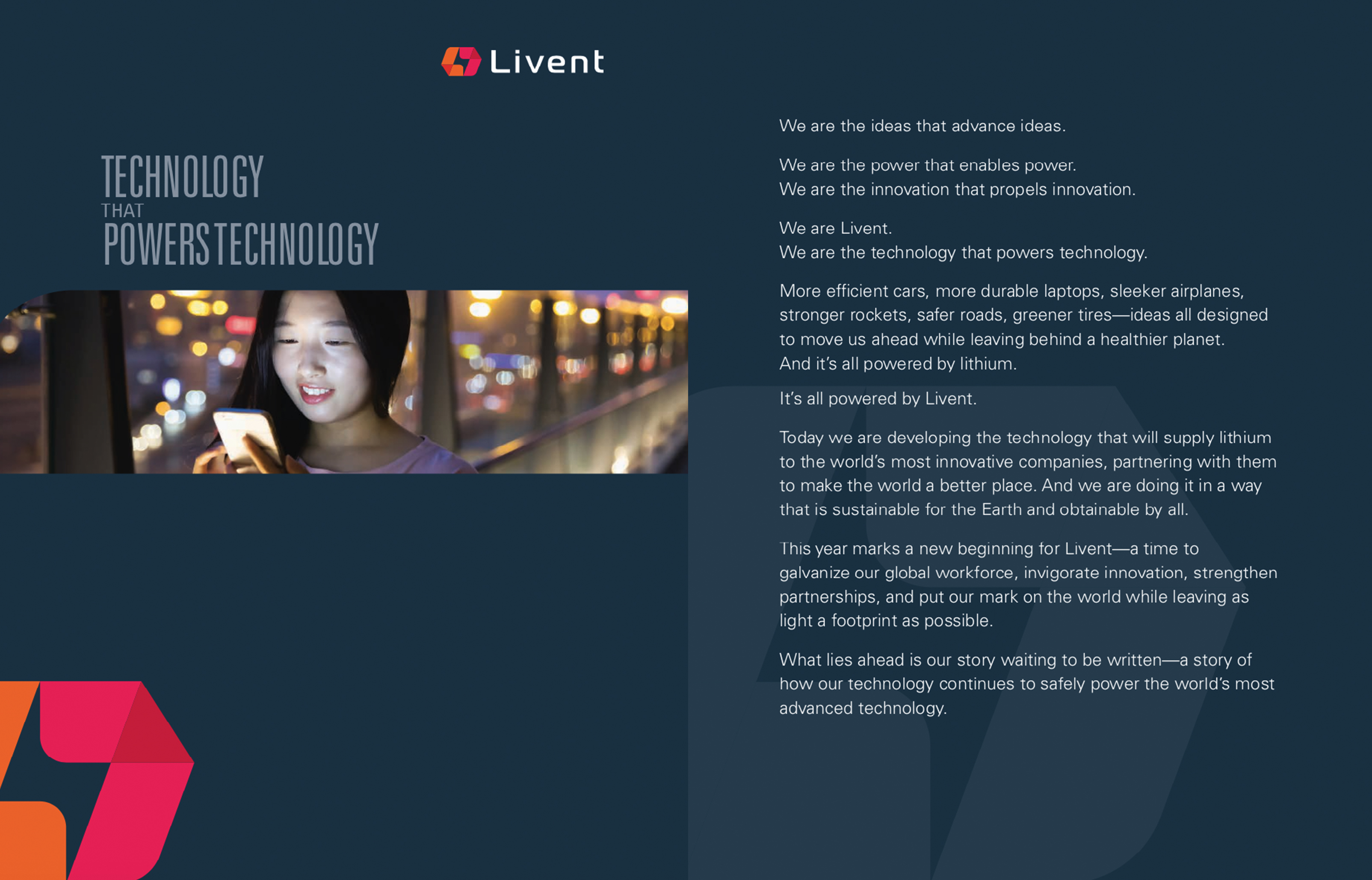 Livent Annual Report