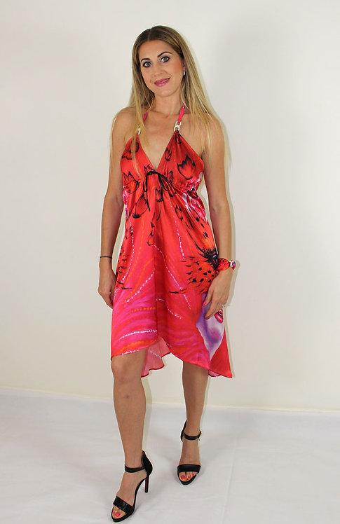 Lady Butterfly silk dress