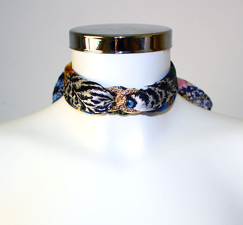 Tiger Choker Necklace