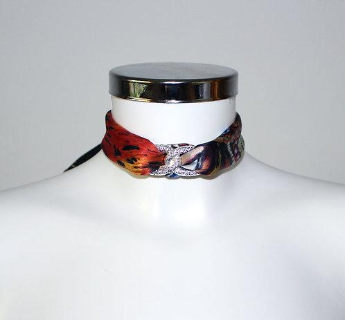 Venetian mask Choker Necklace