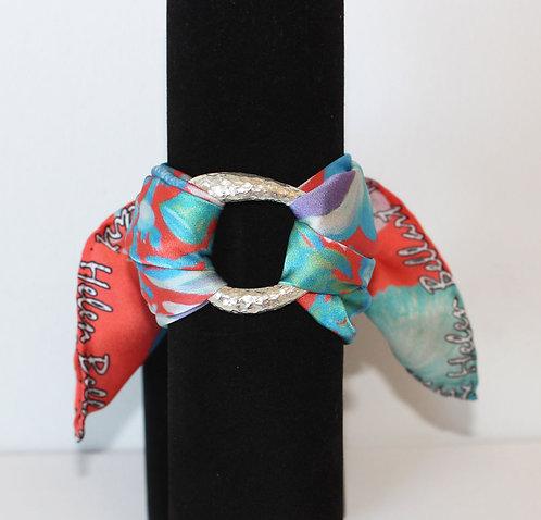 Seahorse silk bracelet