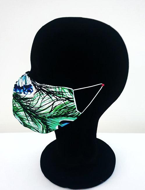 White Tiger designer face mask- FREE SHIPPPING