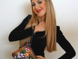New Arrival amazing print Clutch bags collection designed by Helen Bellart.