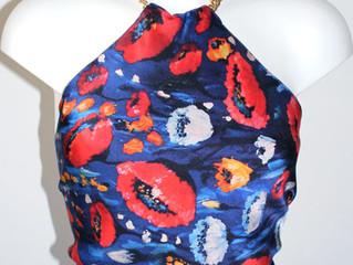 Multifuncional Designer Poppy Silk Top & Ideas how to wear it...