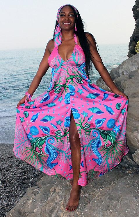 Seafloor long dress
