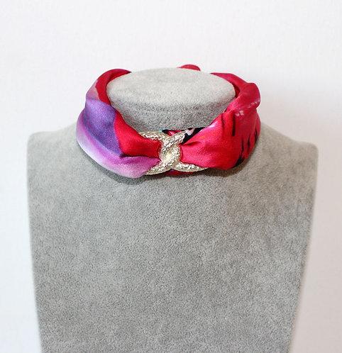 Lady Butterfly Choker Necklace