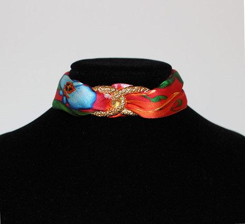 Exotic Garden Choker Necklace