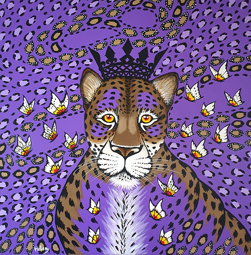 Violet Leopard artwork