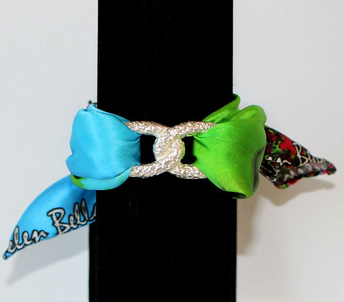 Golf Lady Join Infinity silk bracelet