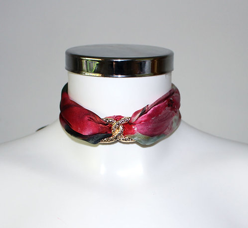 Blooming cherry Choker Necklace