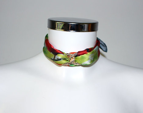 Poppies Choker Necklace