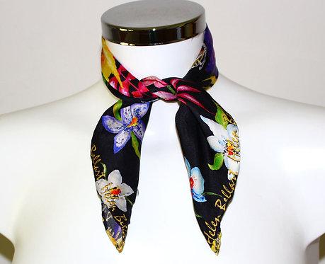 Hawaii silk scarf 45x45 cm
