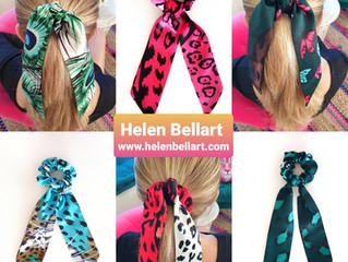 Trendy Hair Accessoires by Helen Bellart