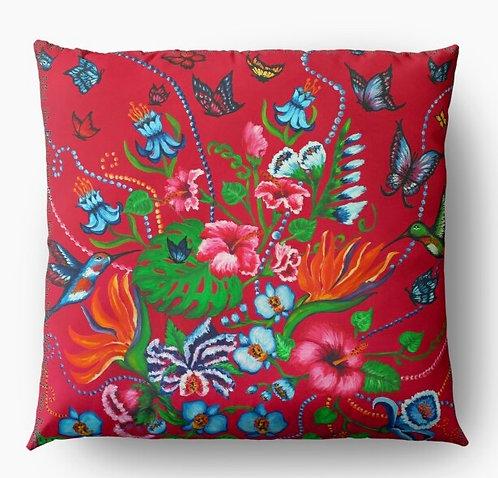 Exotic Garden decorative pillow cover
