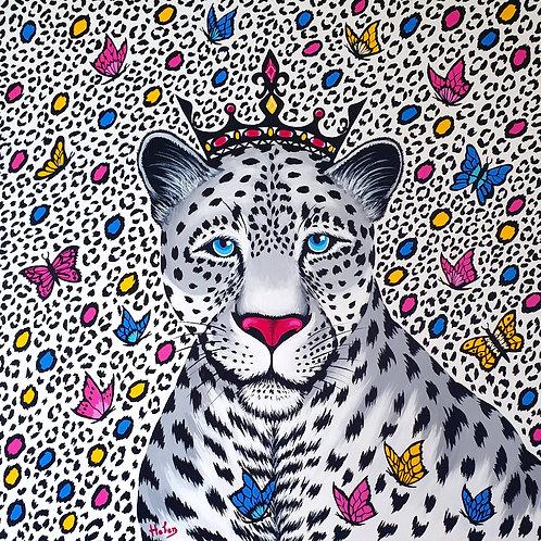 Gray Leopard artwork