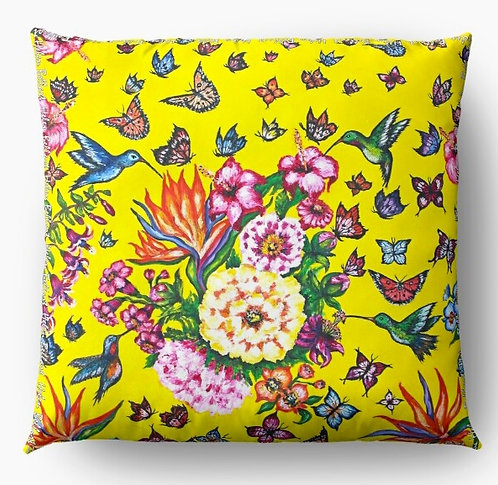 Butterfly Paradise decorative pillow cover
