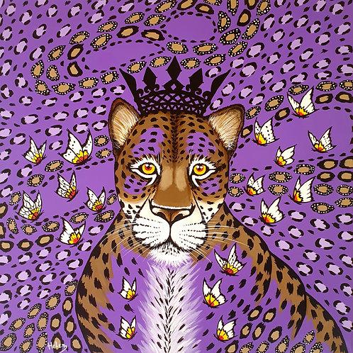 Violet Leopard artwork
