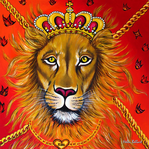 Lion artwork