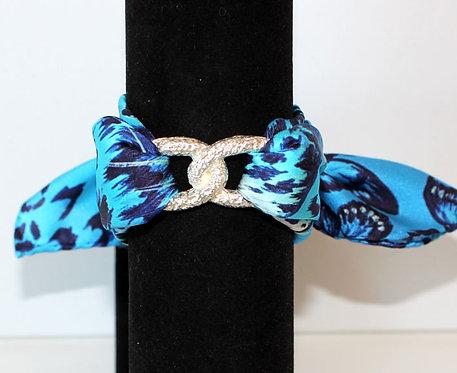 Feline Join Infinity silk bracelet