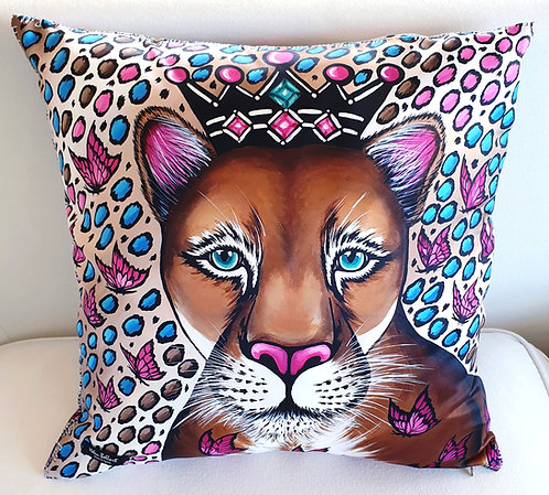Puma decorative pillow cover