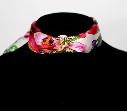 Tropical garden Choker Necklace